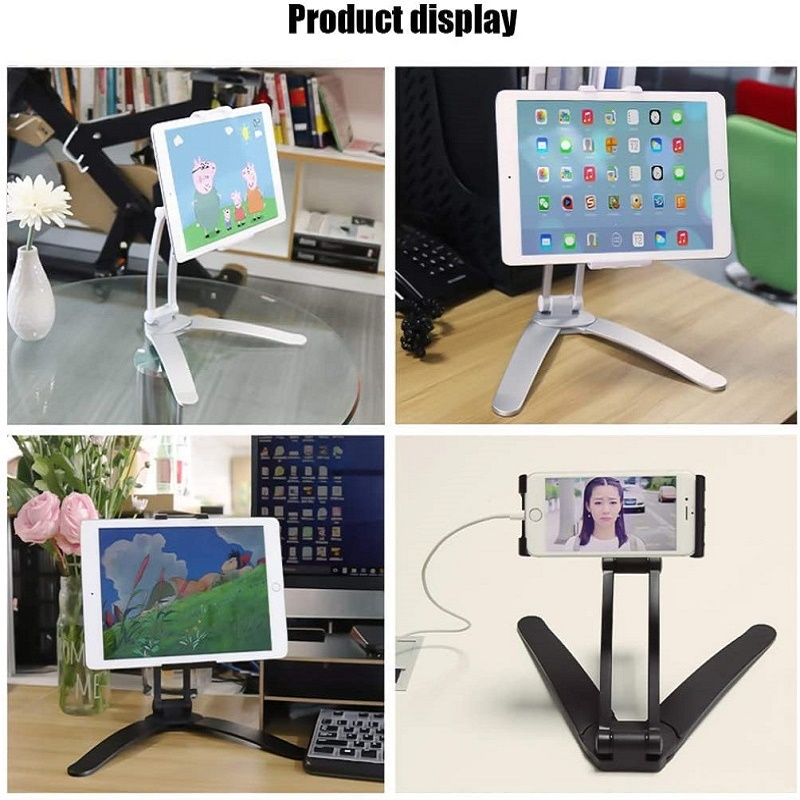 DealSmartphones-Holders Mount-Stand Desk Tablet Wall Kitchen Metal-Bracket Universal Fitè