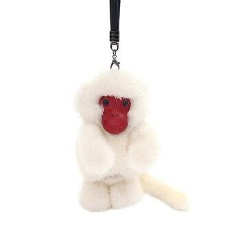 Fur pendant monkey