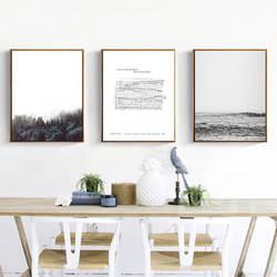 Международная торговля новый стиль Североевропейский Стиль Современное море и Chopin рукопись простой стиль ресторан спальня гостиная Dec