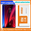 Original 6.39 ''AMOLED XiaoMi 9T Pro LCD mit rahmen für XIAOMI K20 Pro Display Touchscreen Digitizer Montage reparatur Teile