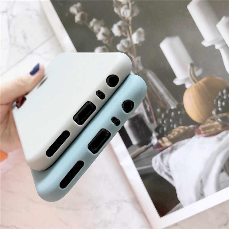 Ponsel Case untuk Xiao Mi Merah Mi Note 8 7 6 5 Plus 4 4X 8A 7A 6A K20 Pro kasus Soft Silicone Cover untuk Xiao Mi Mi 9 Se 8 Lite CC9 CC9E