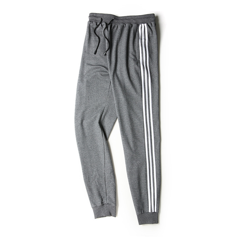 Casual Pants Men's Autumn Knit Pants New Style Skinny Sports Drawstring Top MEN'S Pants Men's New Products Men's Trousers
