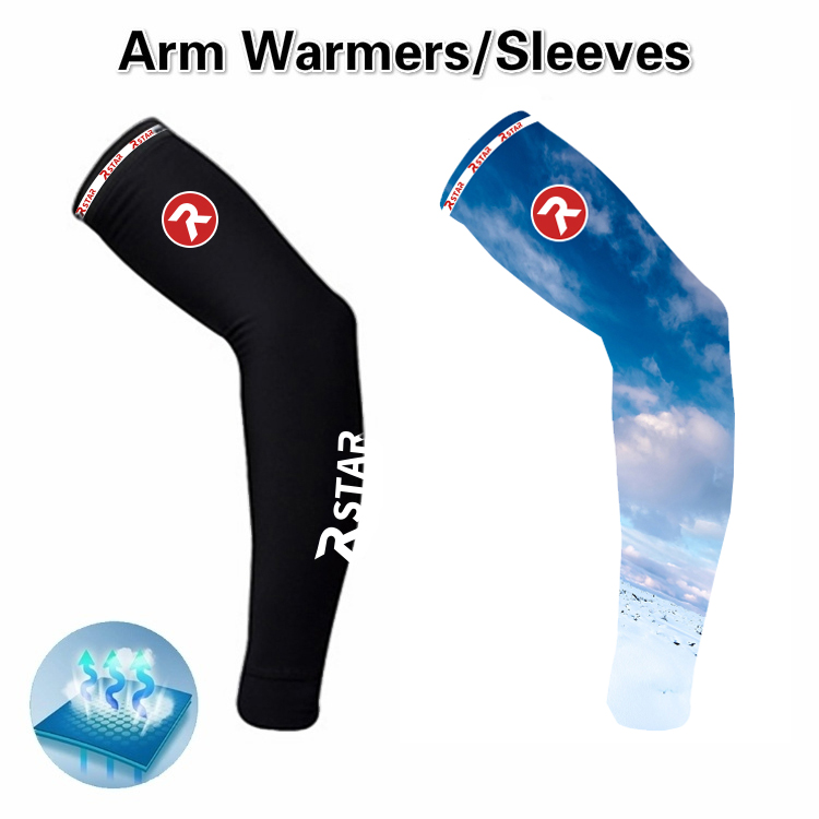1 Paid Sleeve Arm Warmers Outdoor Cycling Sleeves Arm Sleeve Riding Sun Uv Protection