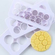 3pcs polymer clay tool Plastic Cutting Molds Hexagon/Round/Square/Fish Scales Geometric Shape Designer Diy Earring Pottery Tools