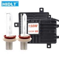 HIDLT 24V 150W Headlight HID Xenon Kit H1 H3 H7 H11 9005 9006 D2H 4300K 5000K 8000K 6000K Truck Boat HID Electronic Ballast Kit