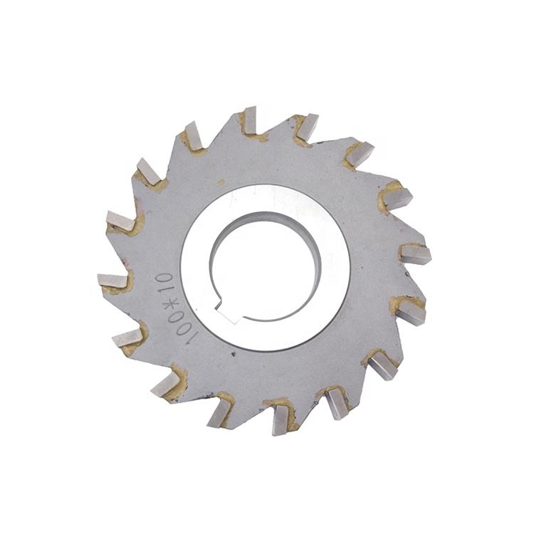 LIVTER Tungsten Carbide Tipped Three Side Face Milling Cutter