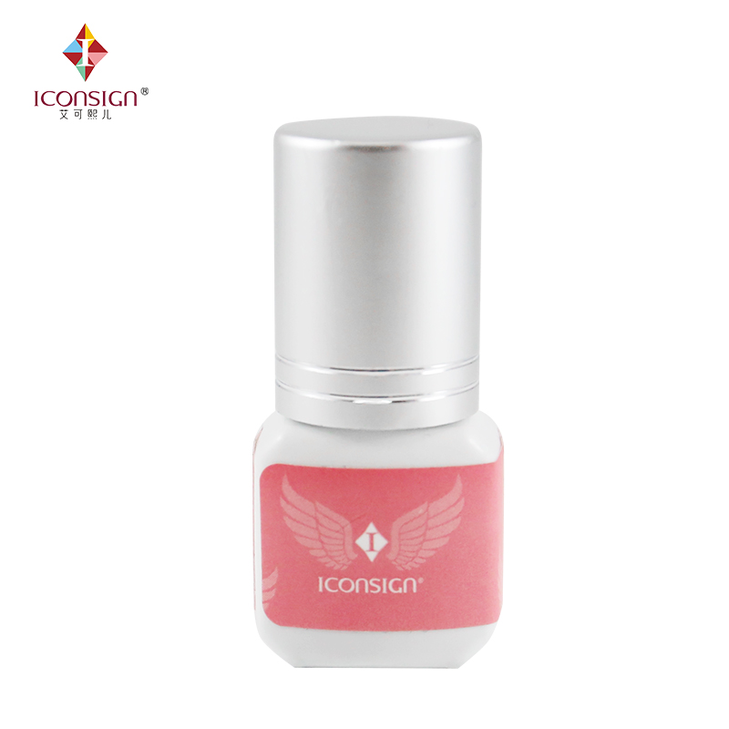 ICONSIGN New items eyelash extension glue 5ml Low smell 1 bottle 1-2 seconds quick dry can keep 40 to 60 days