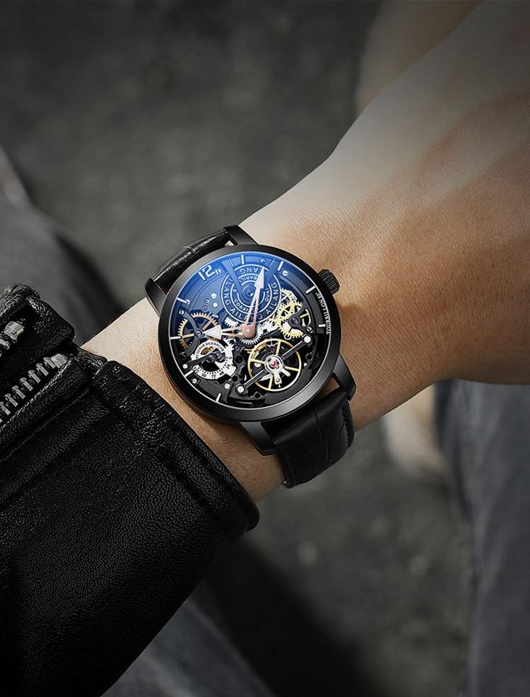 Hdf2bb78d337240288e5d37419fd7b6adl AILANG Original design watch automatic tourbillon wrist watches men montre homme mechanical Leather pilot diver Skeleton 2019