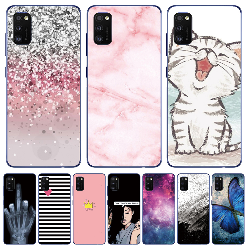 Case For Samsung Galaxy A01 Case For Samsung A31 A21 A11 A41 A51 A71 M21 M31 Phone Cover Silicon Soft TPU Coque Full Protective