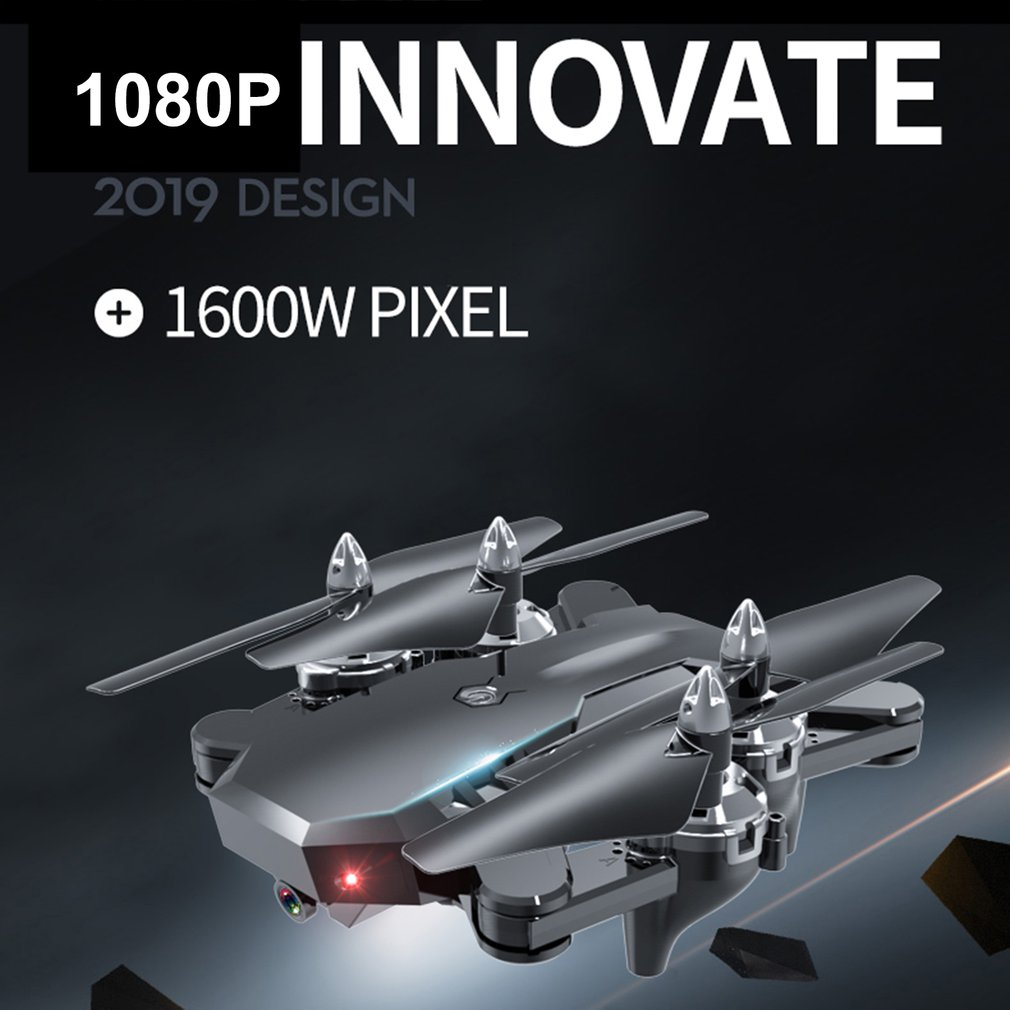 CS-7 GPS 2.4G Foldable RC Drone With 1080P WiFi Camera Aircraft Headless Mode RC Helicopter Remote Control Toys