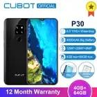 Cubot P30 Android 9,0 4 Гб 64 Гб Смартфон 6,3 ''FHD + экран капли воды 2340*1080 MT6763 Восьмиядерный 4000 мАч Face ID 4G мобильный телефон