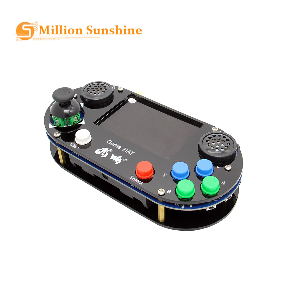 Raspberry Pi 4 / 3 B+Plus / 3B / Zero W RetroPie Game HAT Console Gamepad with <font><b>480</b></font> x <font><b>320</b></font> 3.5 inch IPS Screen RPI158 image