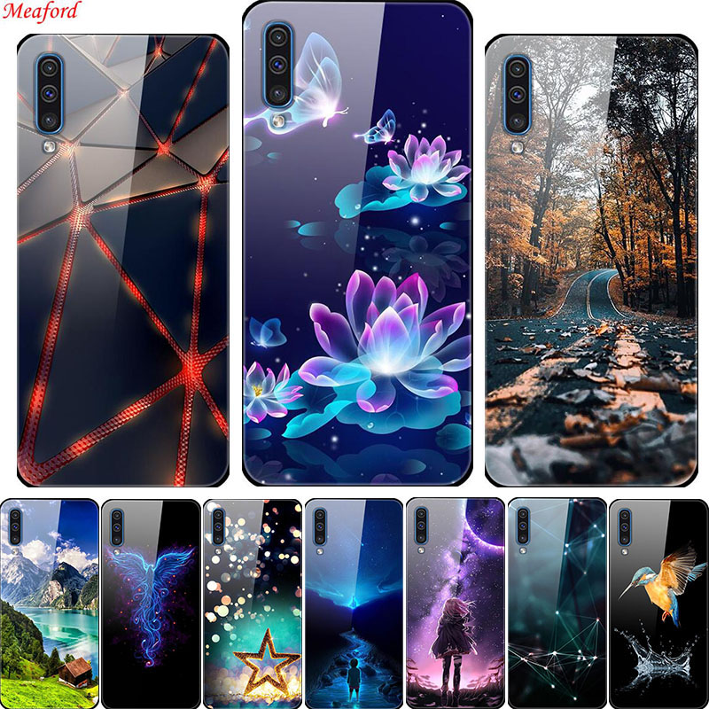Luxury Glass <font><b>Back</b></font> <font><b>Cover</b></font> Case For <font><b>Vivo</b></font> Y17 Y12 Y15 Y91C Y91i Y93 Z5x Z1 Pro <font><b>Y81</b></font> S1 Nex 3 X9 Phone Case Silicone Frame Y 17 Y91C image