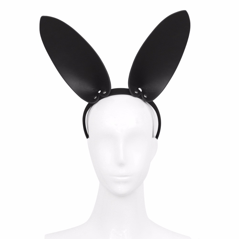 Fetish-Head-Bondage-Cat-Rabbit-Minnie-Headband-BDSM-Restraint-Faux-Leather-Bunny-Mask-Roleplay-Sex-Toy