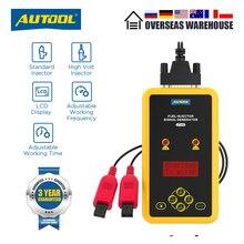 Autool CT60 Auto Injector Tester, brandstof Injector Flush Tester Automotive Goederen CT150 CT200 12V Puls Druk Boost Tester