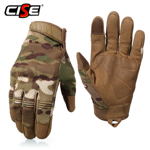 Image 3 - Touch Screen รถจักรยานยนต์ Full Finger ถุงมือ Motocross Camouflage Breathable ป้องกันเกียร์รถจักรยานยนต์ Racing Hard Knuckle ขับรถ