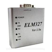 ELM327 USB Kim Loại Nhôm ELM 327 Kim Loại Ốp Lưng Thun 327 USB V1.5/V1.5a Hỗ Trợ Tất Cả Các OBD2 Giao Thức OBDII Tự Động xe Máy Quét Chẩn Đoán