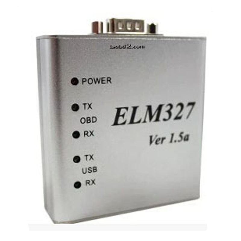 ELM327 USB Metall Aluminium ULME 327 Metall Fall Ulme 327 USB V1.5/V1.5a Unterstützung Alle OBD2 OBDII Protokolle Auto auto Diagnose Scanner