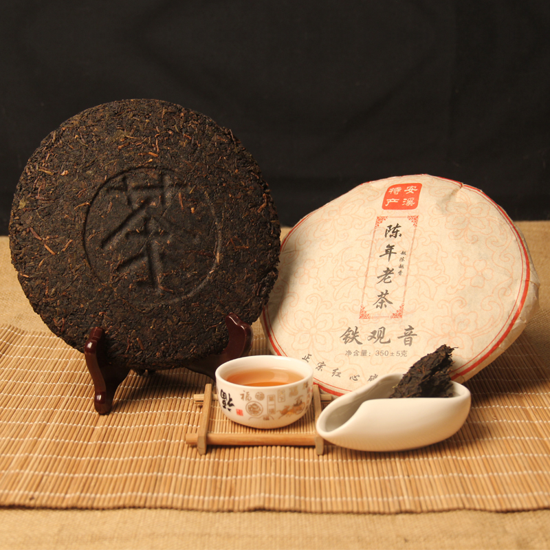 350g China Anxi Black Tiekuanyin Tea Fresh 1275 Organic Oolong Tea For Weight Loss Tea Health Care Beauty Green Food