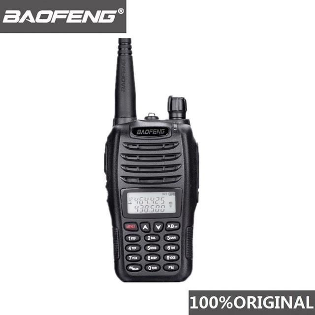 Baofeng UV B6 Communicator מכשיר קשר להקה כפולה VHF UHF B6 חזיר רדיו כף יד משדר HF 2 דרך רדיו מידלנד B5 משודרג