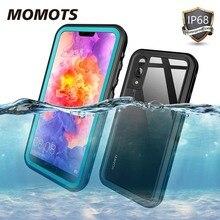 Momots耐衝撃防水ケースhuawei社P20 P20 liteメイト20プロ360シリコーン透明ケースP40 P30プロfunda
