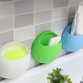 1PC uchwyt na szczoteczki do zębów ściany montaż na przyssawkę stojak do przechowywania pasty do zębów uchwyt naścienny szczoteczka do zębów w łazience pasty do zębów posiadacze tanie i dobre opinie CN (pochodzenie) Z tworzywa sztucznego plastic Blue Green White Pink 11*10 5*5cm