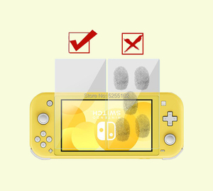 Image 5 - 1set 9 H Tempered glass scree Glass Screen Protector For Nintendo Switch NS Screen Protector For Nintend Switch Lite Accessories