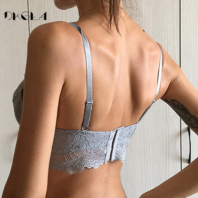 Fashion Sexy Underwear Ultrathin Bra Plus Size 38 40 42 Brassiere Green Women Lingerie Lace Eyelash Transparent Bras Embroidery 4