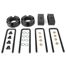 Car Lift Kits Front 3in Rear 2in Leveling Lift Kit Height Block Fit for Toyota Tundra 2WD/4WD 2007 2018 2019 Auto Accessories