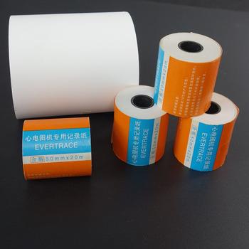 10 części partia papier do druku ekg rysunek ekg 50mm * 20m pojedyncze urządzenie do ekg dedykowany papier do nagrywania ekg tanie i dobre opinie Oyimrhjdg CN (pochodzenie) 1-500 arkuszy 100g ECG thermal paper Papier do kopiowania 50mm*20m