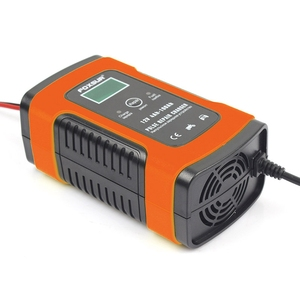 Image 4 - Hot Foxsur 12Vแบตเตอรี่เครื่องชาร์จประเภท12Ah 36Ah 45Ah 60Ah 100Ah Pulse Battery ChargerจอแสดงผลLcd Eu Plug
