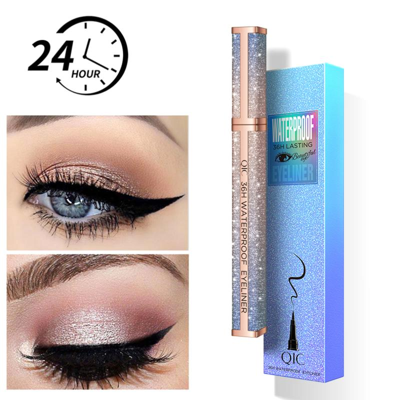 1Pcs Lasting Eye Liner Pencil Colorful Waterproof Black Eyeliner Quick Dry Smudge-Proof Cosmetic Beauty Makeup Liquid TSLM1
