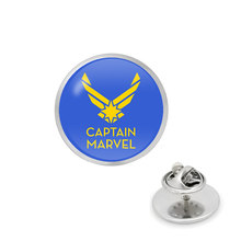 ร้อน Avengers Captain Marvel โลโก้ Pins(China)