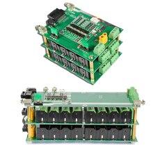 16V 4S güç duvar 18650 pil paketi 4S BMS Li ion lityum 18650 pil tutucu BMS PCB DIY ebike pil 4S pil kutusu