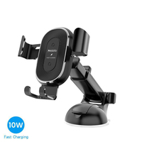 car air outlet Car Wireless Charger Mobile Phone Bracket Suction Cup Telescopic Car Cell Phone Navigation Bracket Air Outlet Charging Bracket (1)