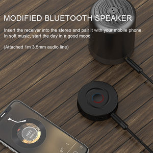 Image 2 - Bluetooth Transmitter Receiver 2 in 1 Bluetooth 5.0 Adapter 3.5mm jack  Audio Receiver Stereo For Speaker Headphones With AUX