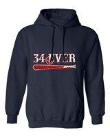 NAVY Ortiz Boston 34 EVER Men's Hoodie Sweatshirt