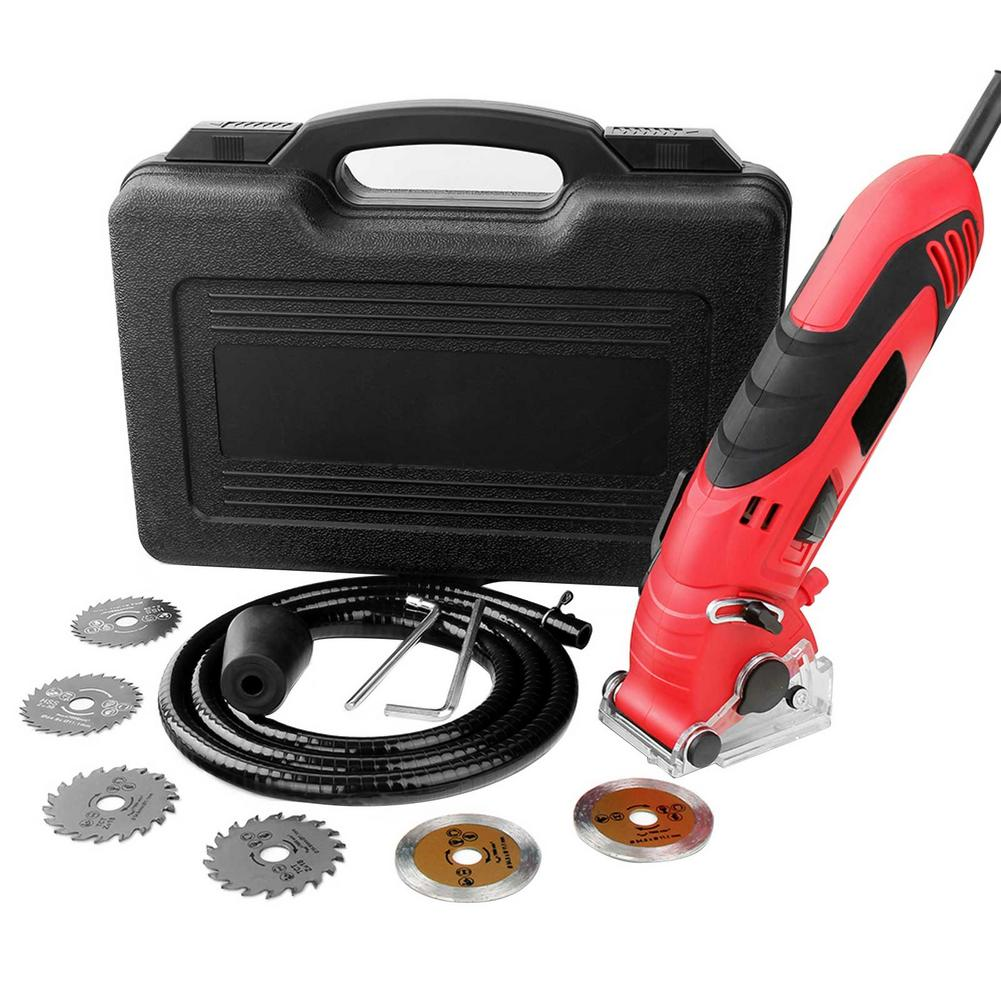 Multifunctional Mini Saw Blade Angle Grinder Hand Grinder Trimming Machine Woodworking Electric Circular Saw Power Tool