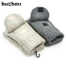 Fashion Winter Men Women Gloves Cashmere Warm Wool Mittens Leather Palm Full Finger Glove Luvas Feminina