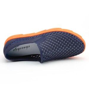 Image 2 - Summer Beach Sandals Men Shoes Breathable Aqua Shoes River Sea Slippers Men Outdoor Flip Flops Barefoot Shoes zapatos hombre