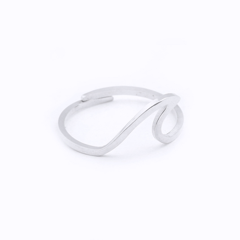 Rings for Women Biology Chemistry Molecule Double Helix Party Gift Minimalist Wedding Jewelry