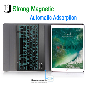 Image 3 - Backlit Keyboard Case For Apple iPad Air 2019 10.5 3 3rd Generation A2152 A2153 A2154 A2123 Pro 10.5 A1701 A1709 Pencil Film