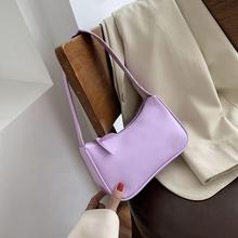 Bolsos de mano Retro Vintage para mujer, bolso de moda 2020, bolso suave de cuero para mujer, pequeño bolso Subaxillary, Mini bolso de hombro Retro Casual