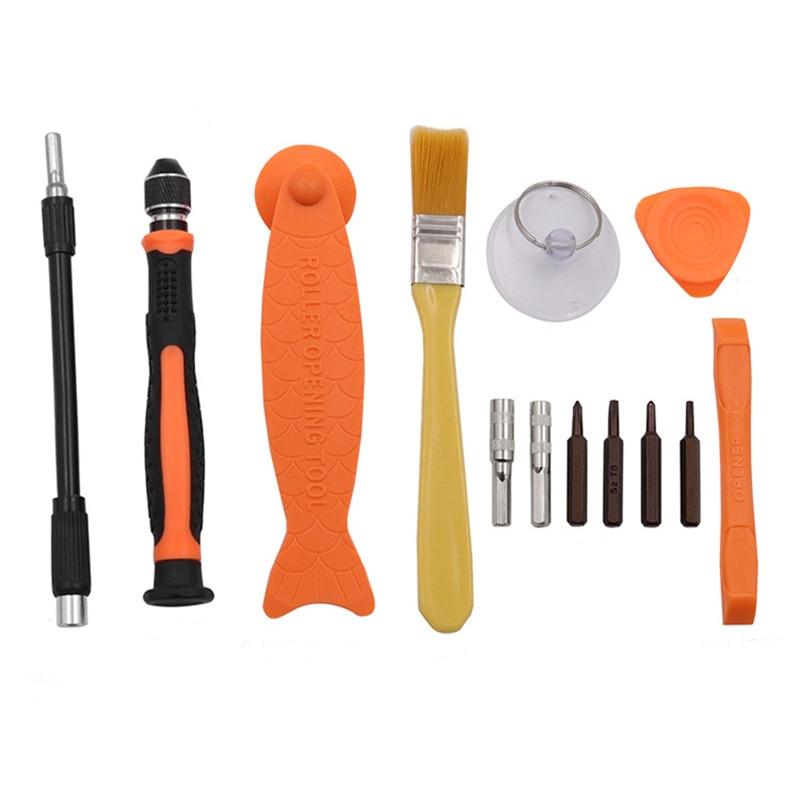 Набор отверток 12 в 1 прецизионный отвертка Torx Bit магнитные биты DIY мобильный телефон для ремонта ноутбука набор ручных инструментов