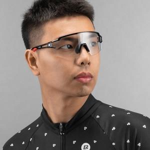 Image 5 - ROCKBROS 사이클링 안경 편광 된 자전거 안경 안경 근시 프레임 UV400 야외 스포츠 선글라스 여자 남자 자전거 고글