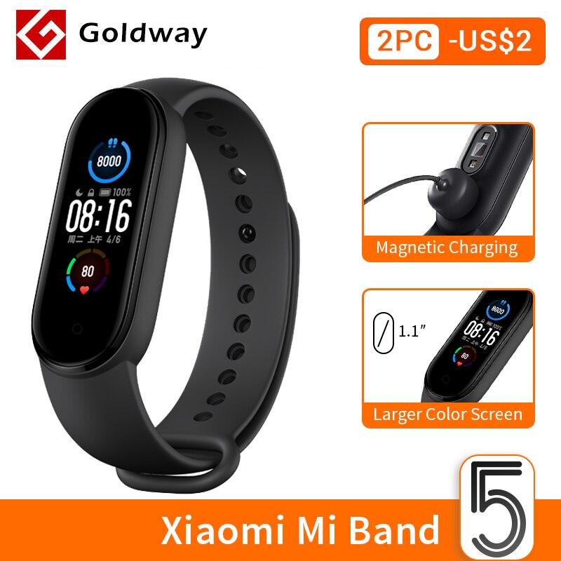 Xiaomi Mi Band 5 za $28.78 / ~114zł