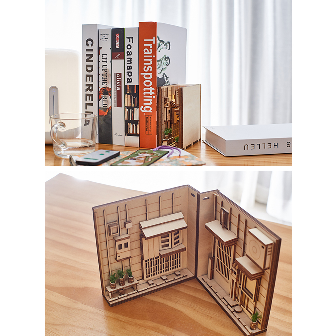 Diagon Alley 3D Miniature Book Nook