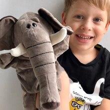 Милые плюшевые игрушки в виде слона из мультфильма, куклы для родителей и детей, детские игрушки для рассказов, детские игрушки