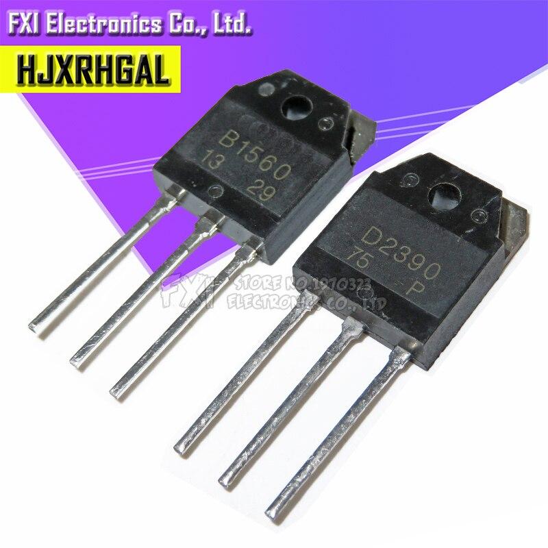 3 пары (3 шт.) 2SB1560 B1560 + (3 шт.) 2SD2390 D2390 оригинальные аутентичные|lot lot|lot 5pcs  | АлиЭкспресс