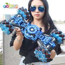 Children Large Remote Control Off-Road Vehicle Tumbling Stunt Car Toy 360Rotatin